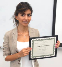 Human Resources graduate Zahra from www.legalfieldcareers.com photo