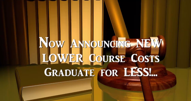 Fast Graduation Low Cost Certified Paralegal Course